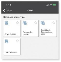 app poupatempo renovar cnh